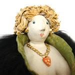 Diva, Unikat, Keramik, Frauenpower, Witzig, Charmant