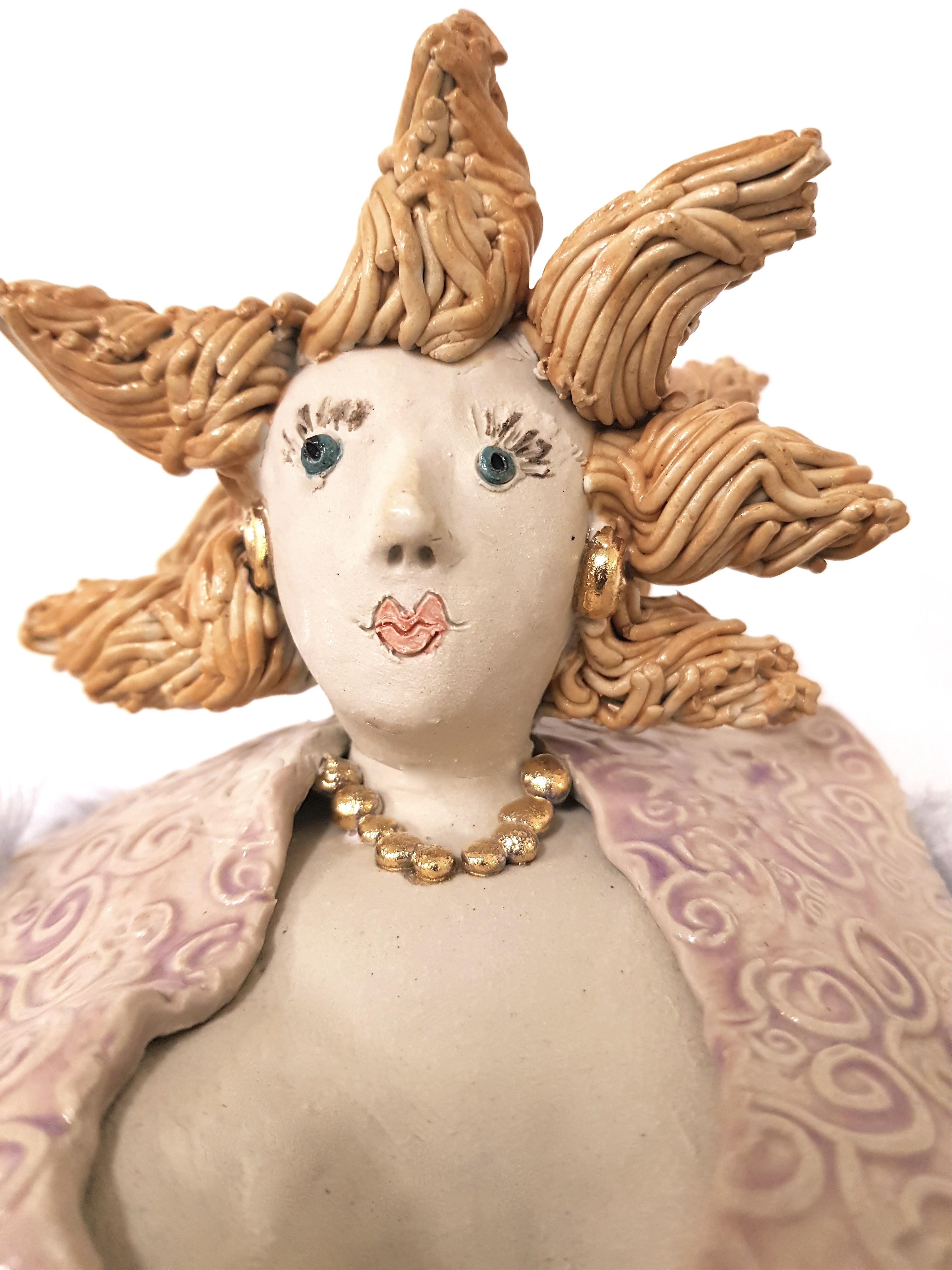 Diva ROSALINDE, Unikat, Keramik, Töpferei la ceramica Basel, Töpferkurse, Teamevents, Shop