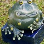 Froschkönig,Töpfern, Keramik, Unikat