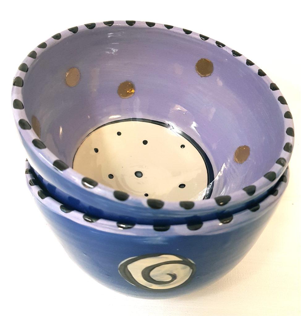 Keramikgeschirr, Unikat, gedreht, Keramik, Töpferei, La Ceramica, Basel