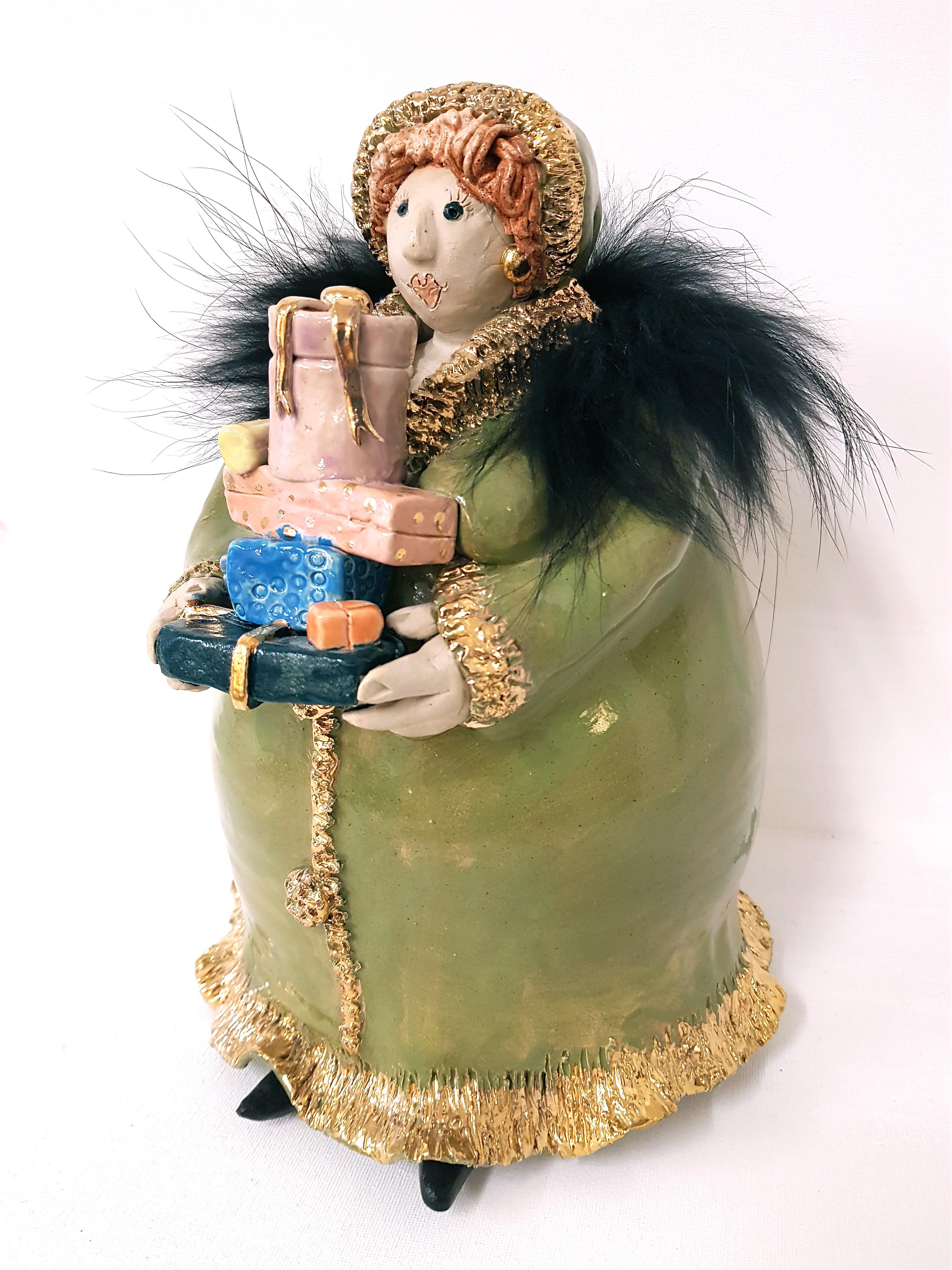 Diva, Unikat, Keramik, Frauenpower, Töpferei, La Ceramica, Basel