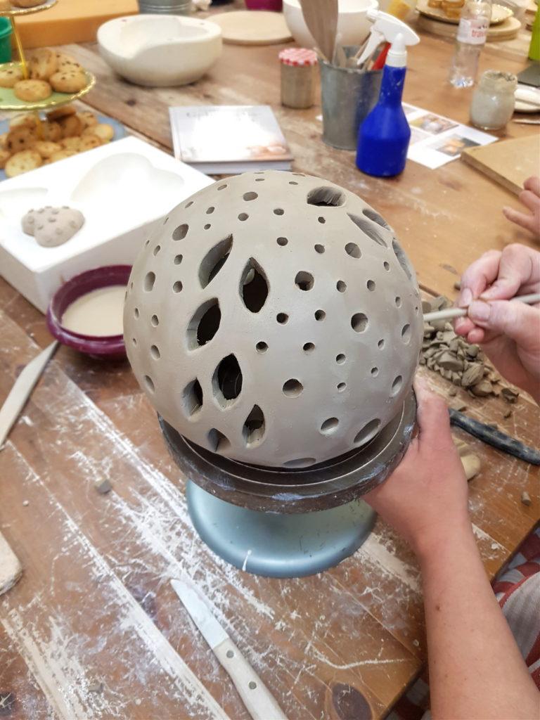 Teamevent, Töpferkurs, Töpferei Basel, Kurse, Keramik, individuelle Töpferzeit
