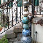 Gartenstele, Keramik, Töpferei, La Ceramica, Basel