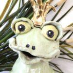 Froschkönig, Töpferei la ceramica Basel, Unikat, Töpferkurse, Teamevents, online shop