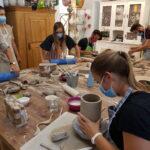 Teamevent Basel, La Ceramica, Töpferkurs,Töpferei, Kurse, Teamevent, Keramik, Werkstatt, Atelier