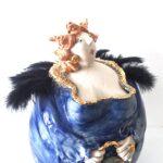 Diva , Töpferei la Ceramica Basel, Unikat, Keramik, Frauenpower, Töpferkurse, Teamevent