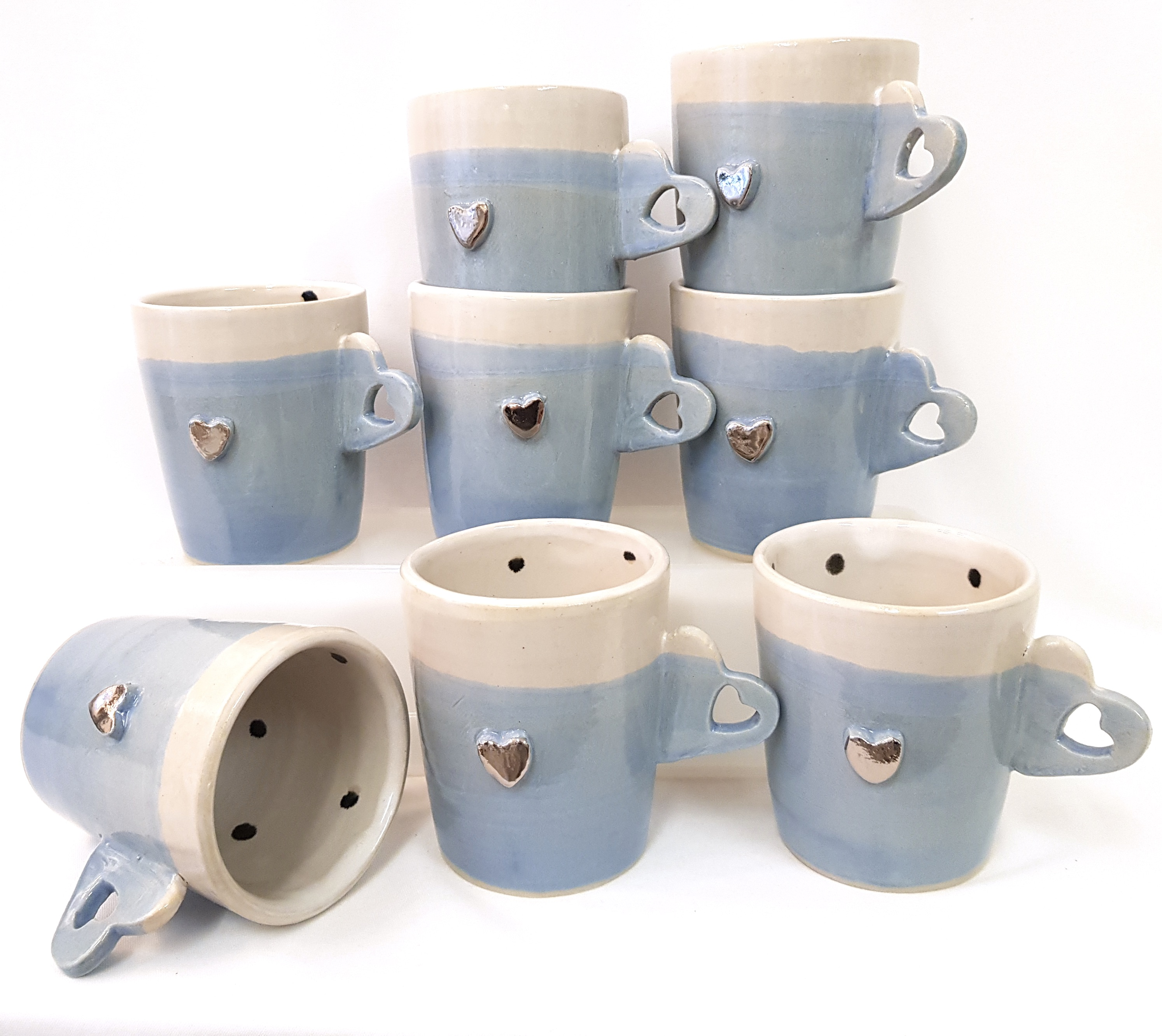 Kaffeetasse Keramik, Unikat, Töpferei la Ceramica Basel, Töpferkurse, Shop, Keramik